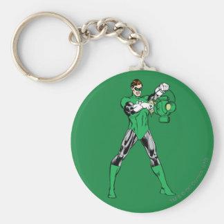 Green Lantern with Lantern Key Ring