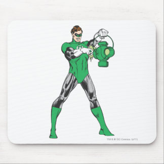 Green Lantern with Lantern Mouse Mat
