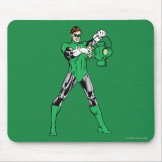 Green Lantern with Lantern Mouse Pad