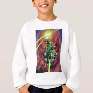 Green Lantern with stream of light - Color Sweatshirt