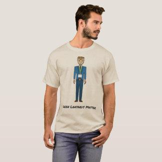 Green Lanyards Matter Cartoon T-Shirt