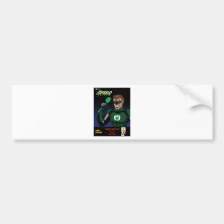 Green Latrine First Flush Bumper Sticker