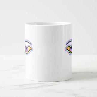 Green Lavender png Extra Large Mug