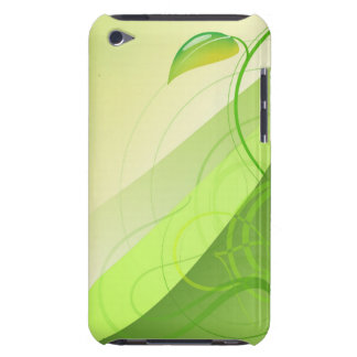 Green Leaf Background iTouch Case iPod Case-Mate Cases