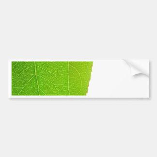 Green Leaf Bumper Stickers