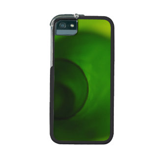 Green Leaf curled iPhone 5/5S Cover