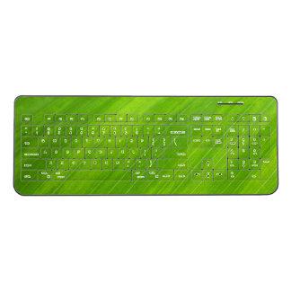 Green Leaf Custom Wireless Keyboard