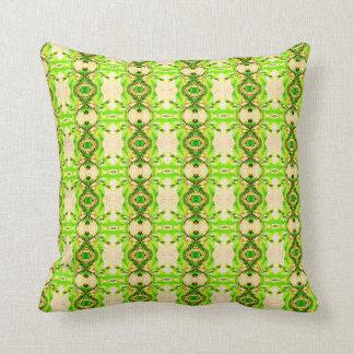 Green Leaf Design Cushion