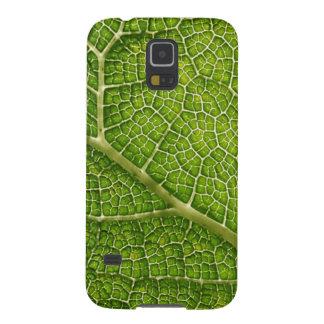 Green Leaf. Digital Art. Galaxy S5 Cover