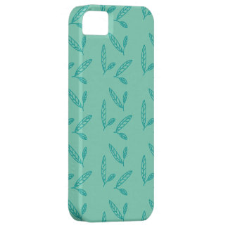 Green leaf iPhone 5 covers