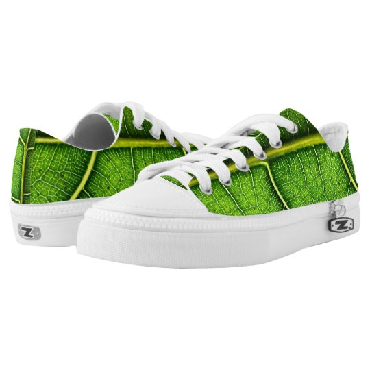 Green Leaf Low Tops