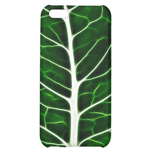 Green Leaf Macro - iPhone 4 Case