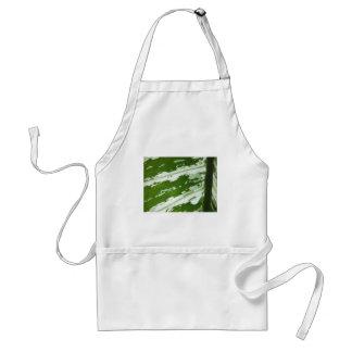 Green leaf macro shot under natura sunlight. standard apron