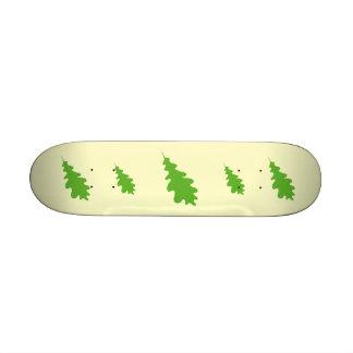Green Leaf Oak Tree leaf Design Skateboard Deck
