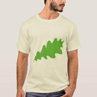 Green Leaf, Oak Tree leaf Design. T-Shirt