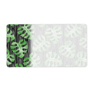 Green Leaf Pattern.