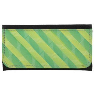 Green Leaf Pattern Wallet