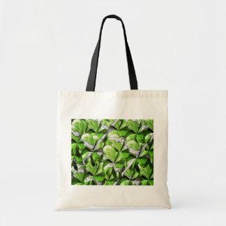 Green Leaf. Tote Bag