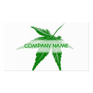 Green Leaf Vintage Business Cards
