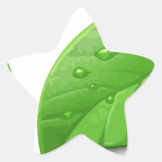 Green Leafs Sticker