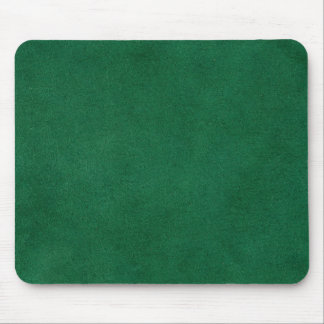 Green leather mouse mat