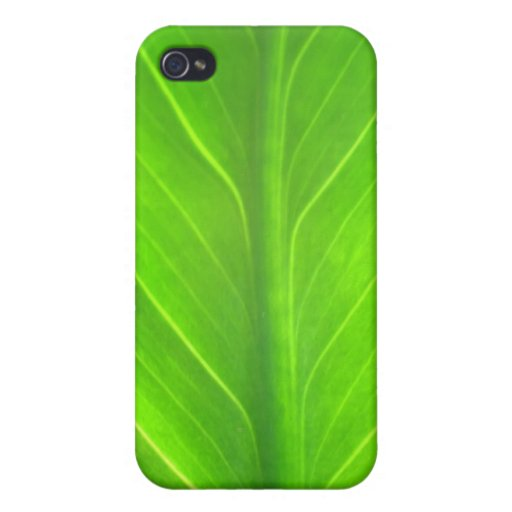 green leave iPhone 4/4S cover