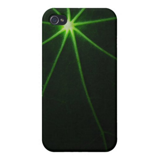 Green Leave Cases For iPhone 4