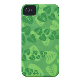 Green Leaves Background iPhone 4 Case-Mate Cases