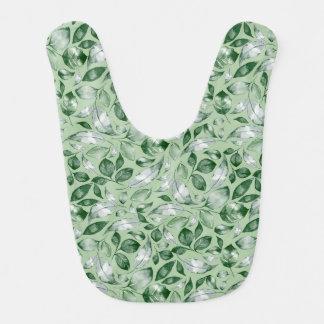 Green leaves bib