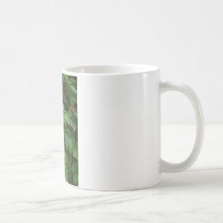 green leaves boho autumn celtic cute mug