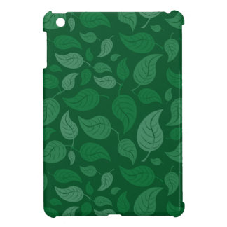 Green leaves case for the iPad mini