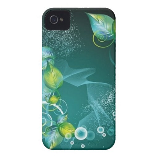 Green Leaves Case-Mate Case-Mate iPhone 4 Cases
