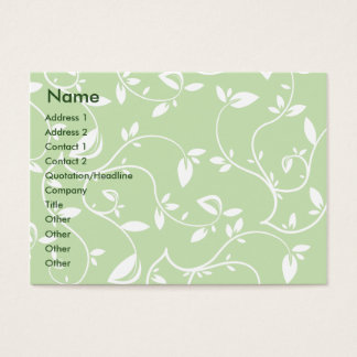 Green Leaves - Chubby Business Card