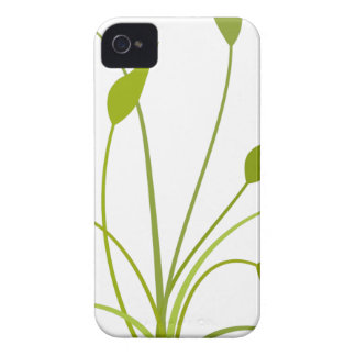 Green Leaves Clipart iPhone 4 Covers