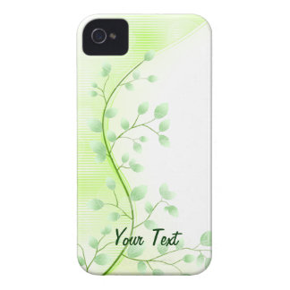 Green Leaves - Customize iPhone 4 Case