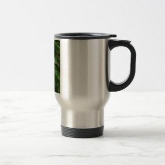 green leaves cute autumn celtic mug
