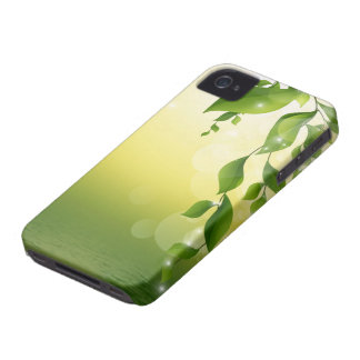 Green Leaves iPhone 4 Case
