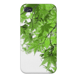Green Leaves iPhone 4 Cases