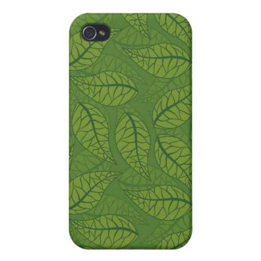 Green leaves iPhone 4/4S cover