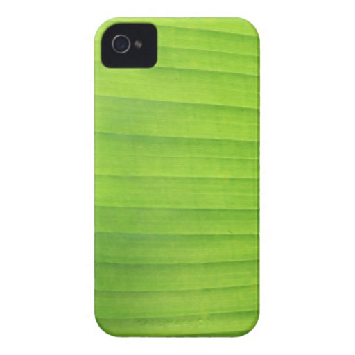 Green Leaves texture iPhone 4 Case