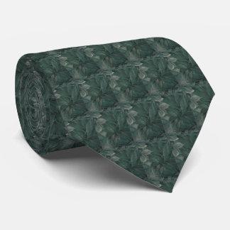 Green Leaves Tie