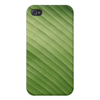 green leaves v1 iPhone 4 case