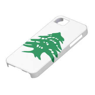 Green Lebanon Cedar Tree iPhone 5 Cases