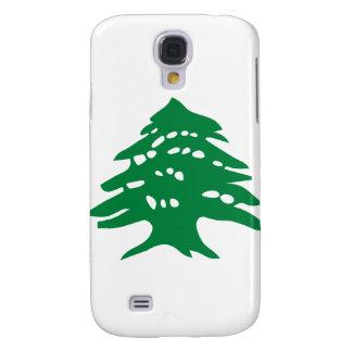 Green Lebanon Cedar Tree Galaxy S4 Cases