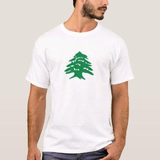 Green Lebanon Cedar Tree T-Shirt