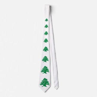 Green Lebanon Cedar Tree Tie