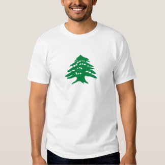 Green Lebanon Cedar Tree Tshirts