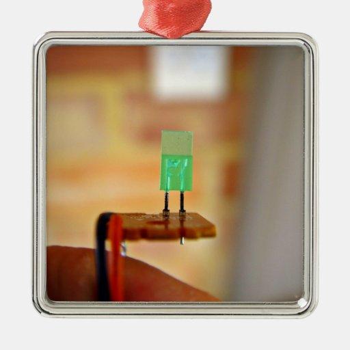 Green LED Ornament