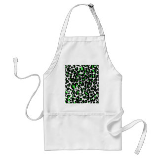 Green Leopard Pattern Aprons