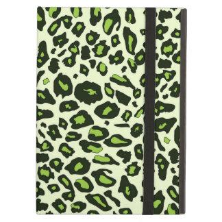 Green leopard print case for iPad air